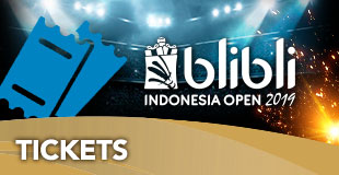 Tickets - Indonesia Open 2019