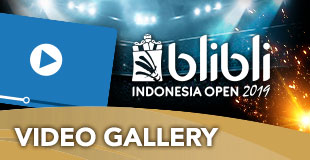 Video - Indonesia Open 2019