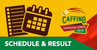 Caffino Superliga Junior 2019 - Schedule & Results