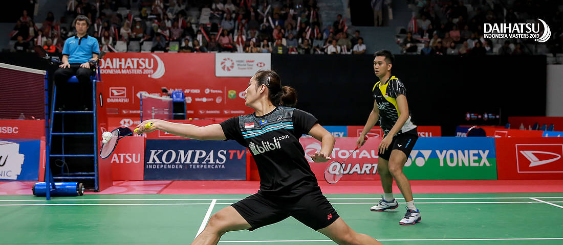 Badminton Asia Championships) Perjuangan Alfian/Marsheilla