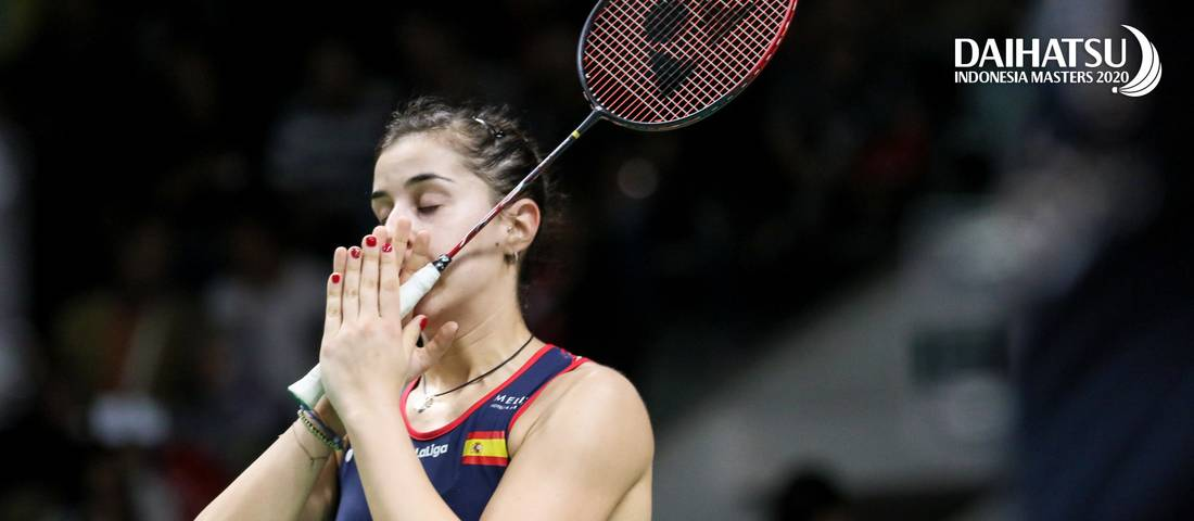 Carolina Marin (Spanyol) lolos ke semifinal Denmark Open 2020 BWF World Tour Super 750.