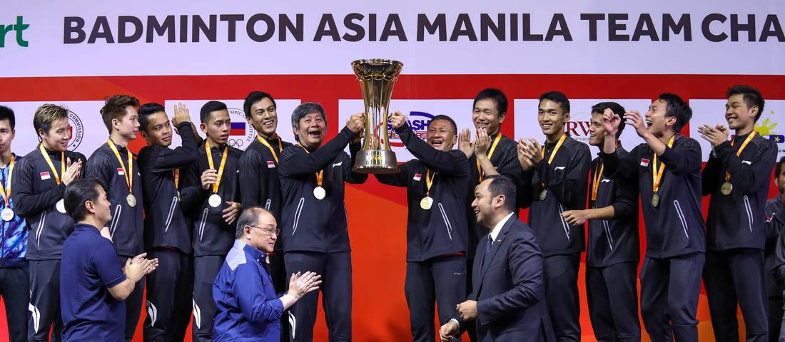 Image result for badminton asia championship 2020 trophy