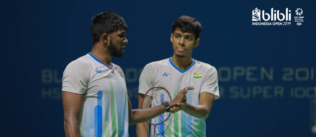 Satwiksairaj Rankireddy/Chiraig Shetty (India).