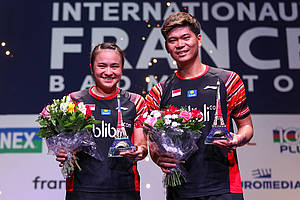 Praveen Jordan/Melati Daeva Oktavianti (Indonesia) juara French Open 2019 BWF World Tour Super 750.