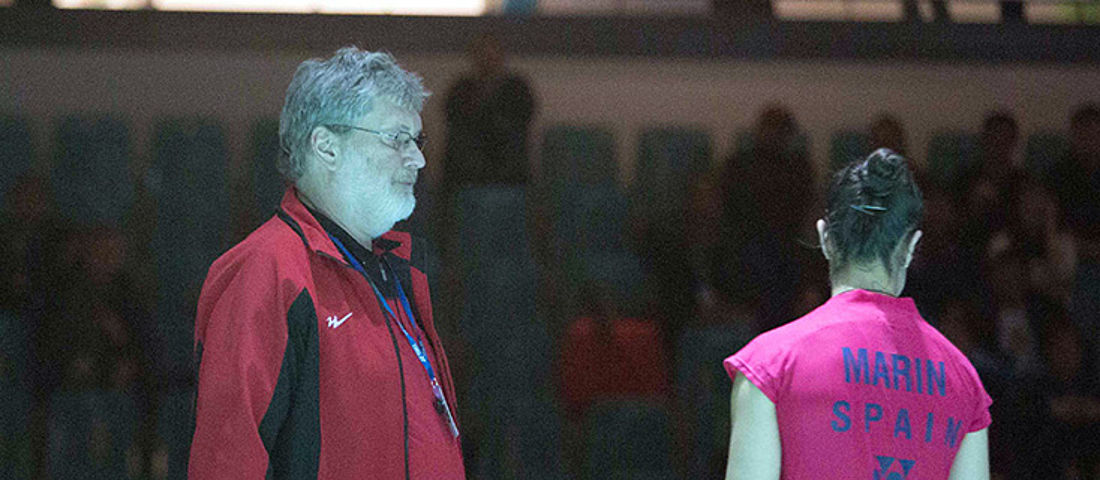 Double red card for spanish badminton star Carolina Marin at the German Open 2015