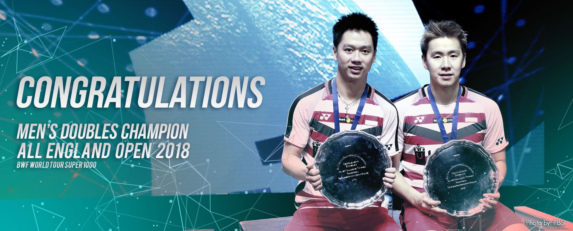 Men's Doubles Champions All England Open 2018