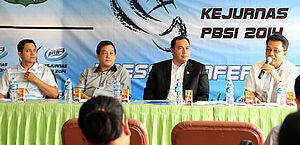 Press Conf Kejurnas 2014