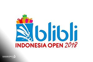 Logo Blibli.com Indonesia Open 2018