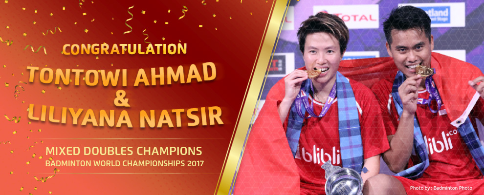 Mixed Doubles Champions Badminton World Championships 2017