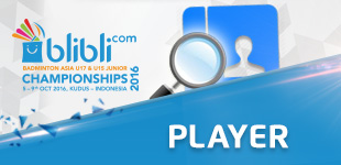 Players of Blibli.com Badminton Asia U17 & U15 Junior Championships 2016