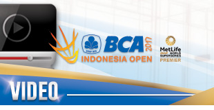 BCA Indonesia Open Superseries Premier 2017 - Video Gallery