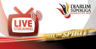 Live Streaming Djarum Superliga Badminton 2017