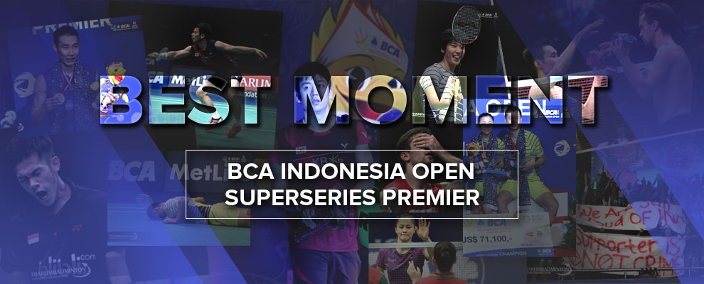 Best Moments BCA Indonesia Open Superseries Premier 2016