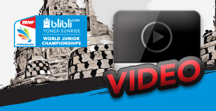 Blibli.com BWF World Junior Championships 2017 - Video