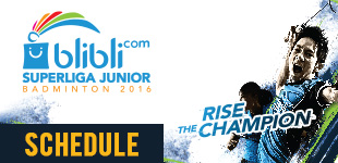Jadwal Blibli.com Superliga Junior 2016 - Rise The Champions