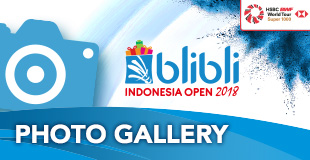 Indonesia Open - Photo Gallery