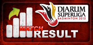 Hasil Pertandingan Djarum Superliga 2015