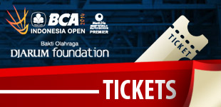 Tiket BCA Indonesia Open