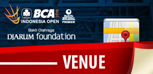 Venue BCA Indonesia Open
