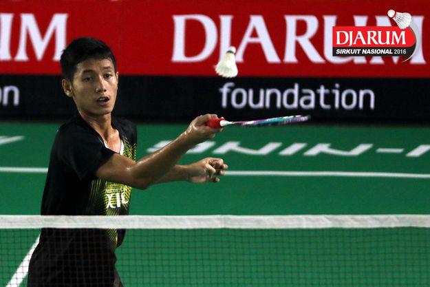 putra piliang ~ djarum badminton (sirnas medan 2016) gatjra ke babak tiga