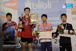 Podium Tunggal Putra World Junior Championships 2017
