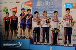 Podium Ganda Putri World Junior Championships 2017