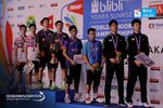 Podium Ganda Putra World Junior Championships 2017