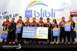 Runner Up U-19 Putri Blibli.com Superliga 2017, Djarum