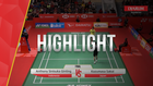 Match Highlight | Day 6 : Anthony Sinisuka Ginting (Indonesia) VS Kazumasa Sakai (Japan)