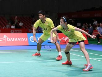 (Japan Open Superseries 2017) Sengit! Jordan/Debby Pastikan Tiket Perempat Final