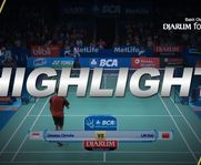 Lin Dan (China) VS Jonatan Christie (INA)