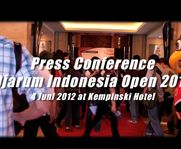 Press Conference Djarum Indonesia Open 2012, 4 June at Hotel Kempinski Jakarta