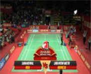Saina Nehwal (INDIA) VS Lindaweni Fametri (INDONESIA) Djarum Indonesia Open 2013