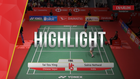 Match Highlight | Day 6 : Tai Tzu Ying (Chinese Taipei) VS Saina Nehwal (India)
