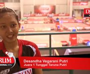 [Interview] Desandha Vegarani Putri (DJARUM KUDUS)