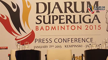 Press Conference II & Drawing Djarum Superliga 2015