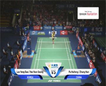 Lee Y. Dae / Y. Y. Seong (KOREA) VS Fu Haifeng / Zhang Nan (CHINA)