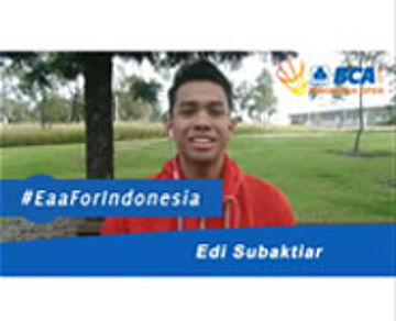 Edi Subaktiar For BCA Indonesia Open 2015