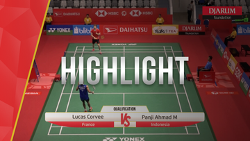 Lucas Corvee (France) VS Panji Ahmad M (Indonesia)