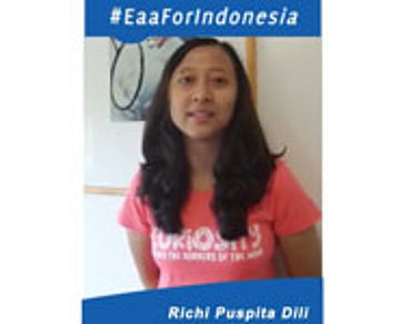 Richi Puspita Dili For BCA Indonesia open 2015