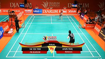 Tai Tzu Ying (PB DJARUM) VS Ayumi Mine (RENESAS) DJARUM SUPERLIGA 2013
