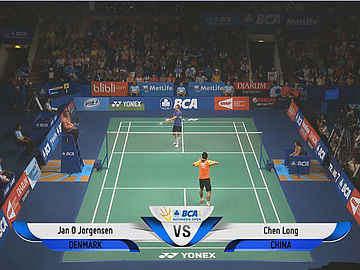 Jan O Jorgensen (DEN) VS Chen Long (CHN)