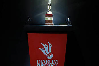 Men's Teams Podium Djarum Superliga Badminton 2019