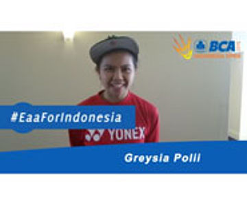 Greysia Polii For BCA Indonesia open 2015