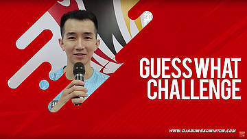Guess What Challenge With Chong Wei Feng (Malaysia)