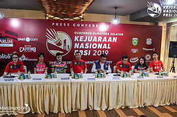Kejurnas PBSI 2019 - Press Conference