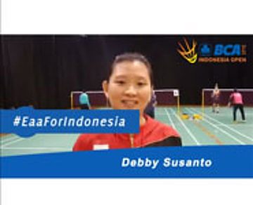 Debby Susanto For BCA Indonesia open 2015