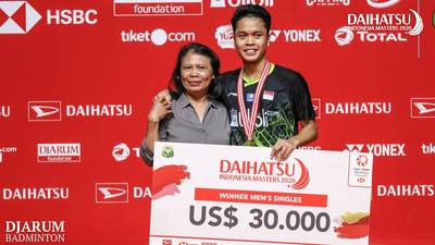 Anthony Sinisuka GINTING (Indonesia)...