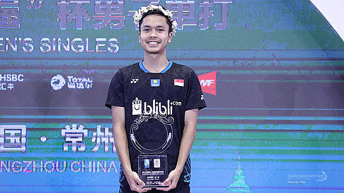 GINTING, Anthony Sinisuka (Indonesia)
