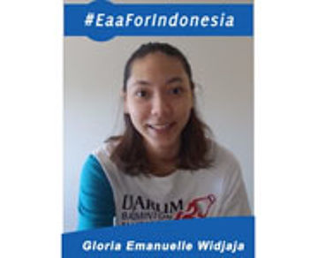 Gloria Emanuelle For BCA Indonesia open 2015